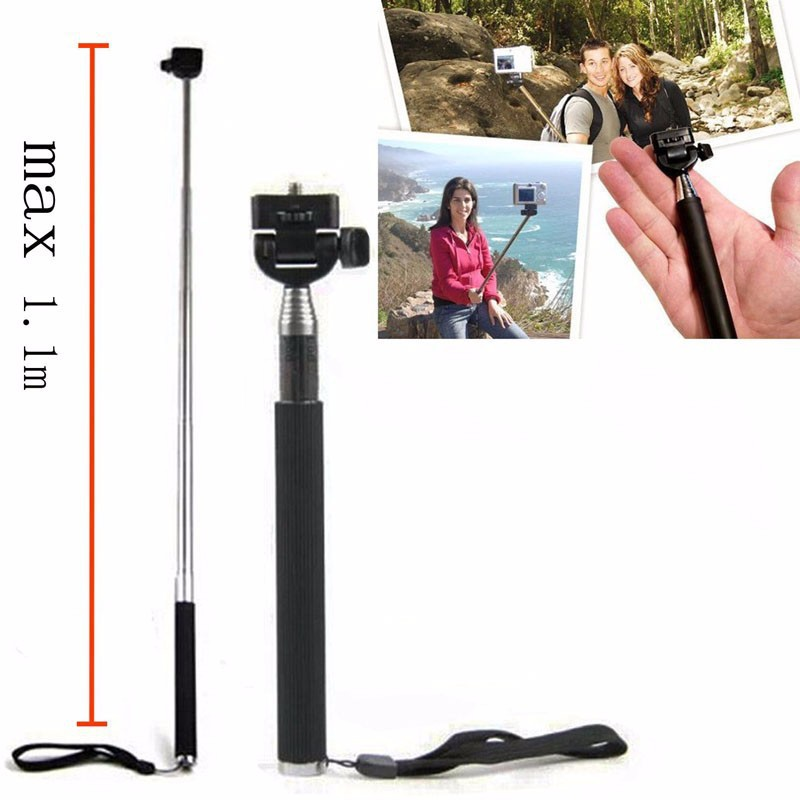 Image 3 - HOMEREALLY Gopro Accessory Monopod Head Chest Kit For Sony HDR AS20 AS30V AS100V Xiaoyi Gopro Hero 3/3+/4 Session SJ4000 M10 M20-in Tripods from Consumer Electronics