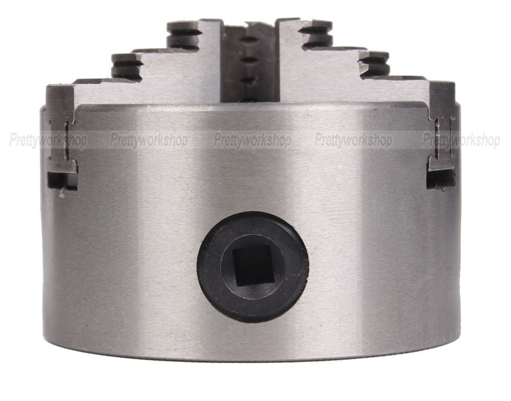 CNC Dia 80mm Series Cylinder Center Mounting Three 3-Jaw Self-Centering Chuck