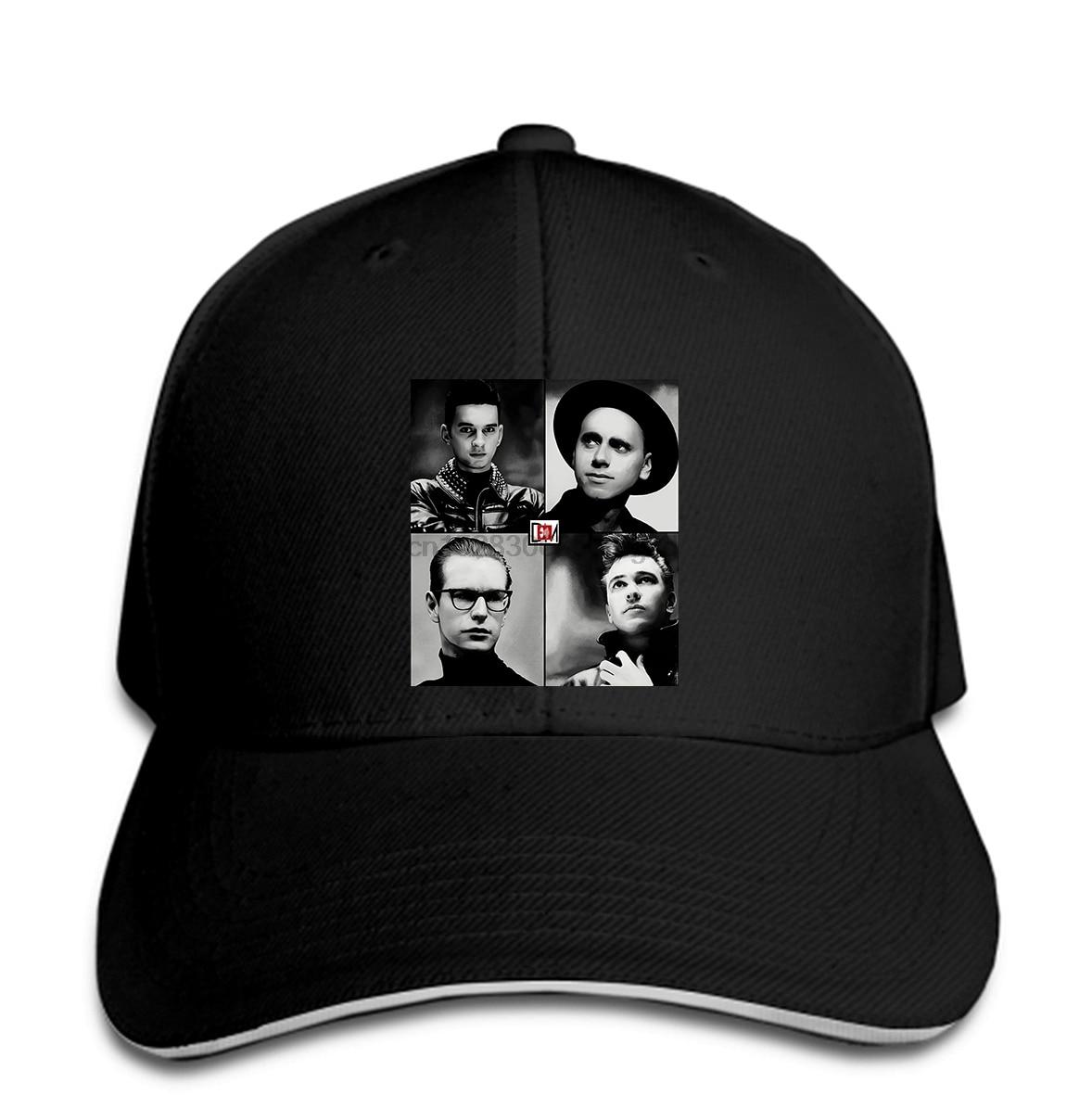 Vtg-1988-Depeche-Mode-USA-Tour-Men Baseball Cap-Concert-RARE-Vintage-Cool-Body Snapback Cap Women Hat Peaked
