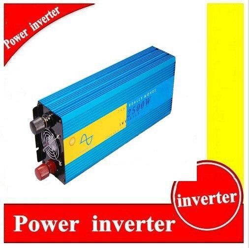 2500W 12V/110VDC 100/110/120VAC or 220/230/240VAC Pure Sine Wave PV Inverter Off Grid Solar& Wind Power Inverter PV Inverter 2500w 12v 110vdc 100 110 120vac or 220 230 240vac pure sine wave pv inverter off grid solar