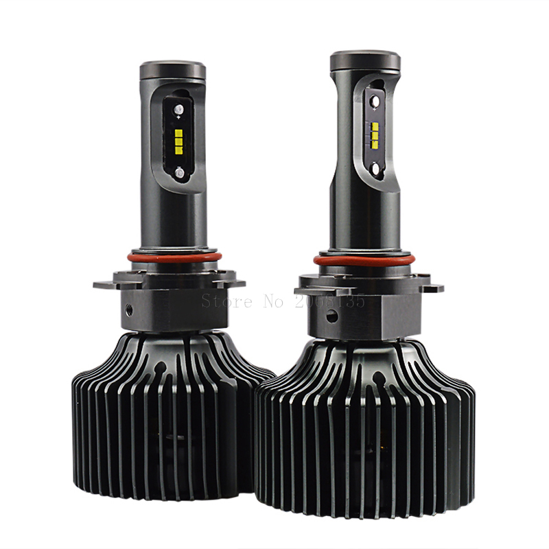 ФОТО 2PCS P7 Led Headlight 30W 4200Lm Plug&Play Headlights 9012 HIR2 6000K Xenon White Driving Headlamp Bulb Free Shipping 12V 24V