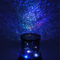 Big Promotion Colorful Star Sky Master Projector Starry Night Light Lamp Romatic Cute Gift