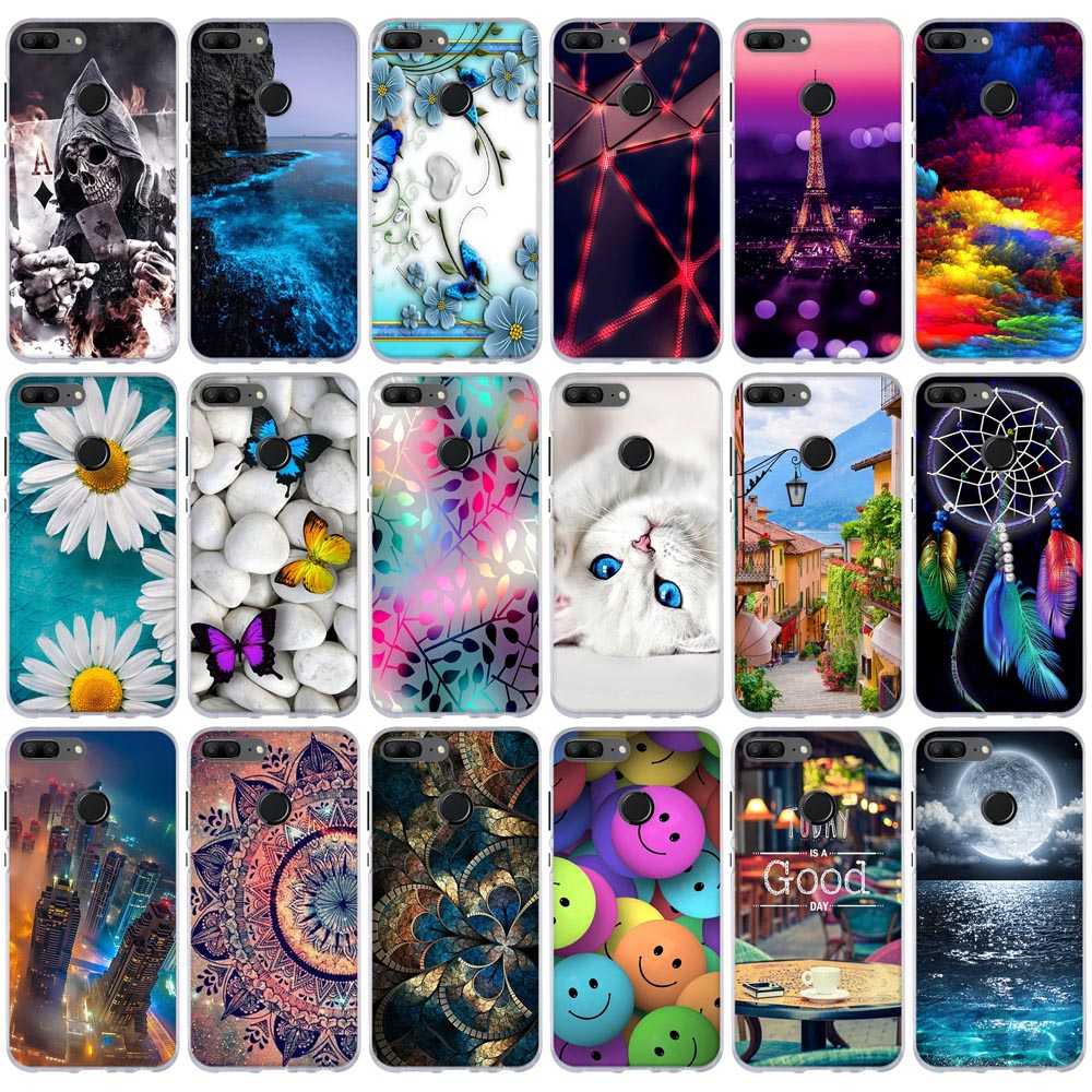 Case For Huawei Honor 9 Lite Case Soft Silicone Cover For Huawei Honor 9 Youth Edition Case For Huawei Honor 9 Lite Phone Covers