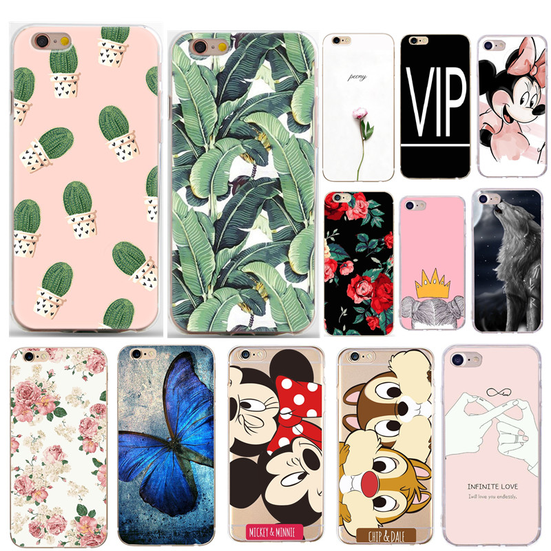 Luxury Phone Case For iphone 7 8 PLUS 5 5S 6 6s X XS Capa Silicone Thin Soft TPU Bags Back Protective For iphone 6 s Accessory
