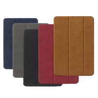 PU Leather Case For IPad Air 2 BGR Ultra Slim Light Weight Anti Scratch Cover For