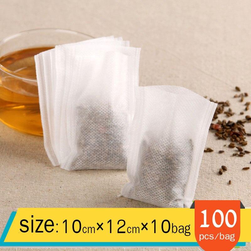 1000 10*12 environmentally friendly non woven heat sealing tea bags filter bags