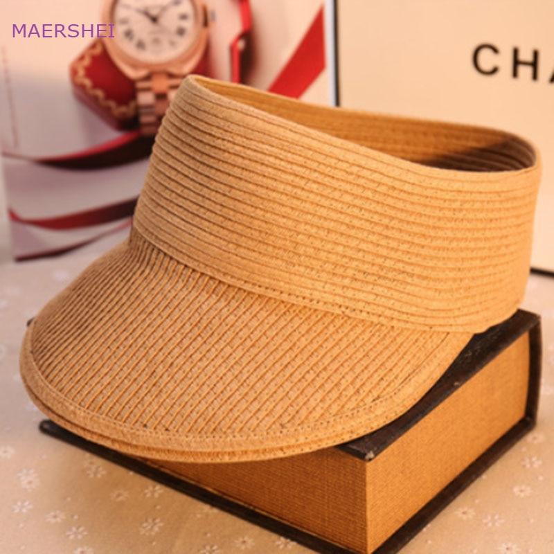 MAERSHEI Topi perempuan musim panas perjalanan di luar ruangan topi - Aksesori pakaian - Foto 4