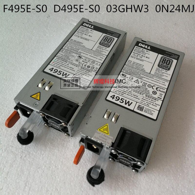 ADDA DELL R720 R620 495W D495E-S0 F495-S0 DPS-495AB A adda ad7512hb 7530 dc12v 0 24a