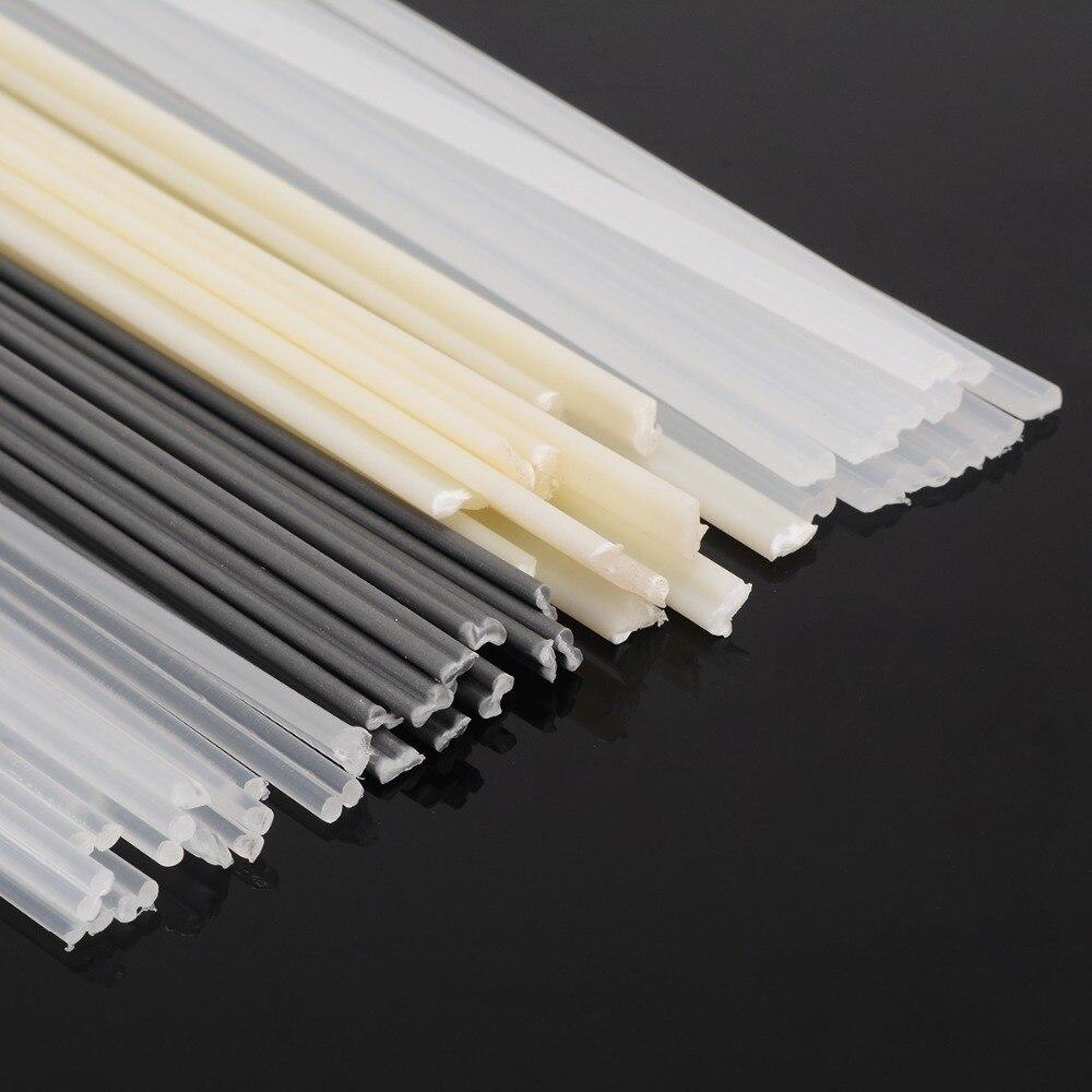 black pack of 20 pcs //triangular shape// 3mm PP//PE  Plastic welding rods
