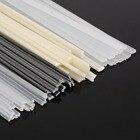 50pcs New Plastic Welding Rods ABS/PP/PVC/PE Welding Sticks 200mm Mayitr For Plastic Welder
