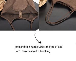 Image 3 - Sac à main en tissu Chic français pour femmes, sacoche à poignée supérieure 2020, fourre tout de grande capacité pour couches, sacoche quotidienne pour shopping, collection décontracté