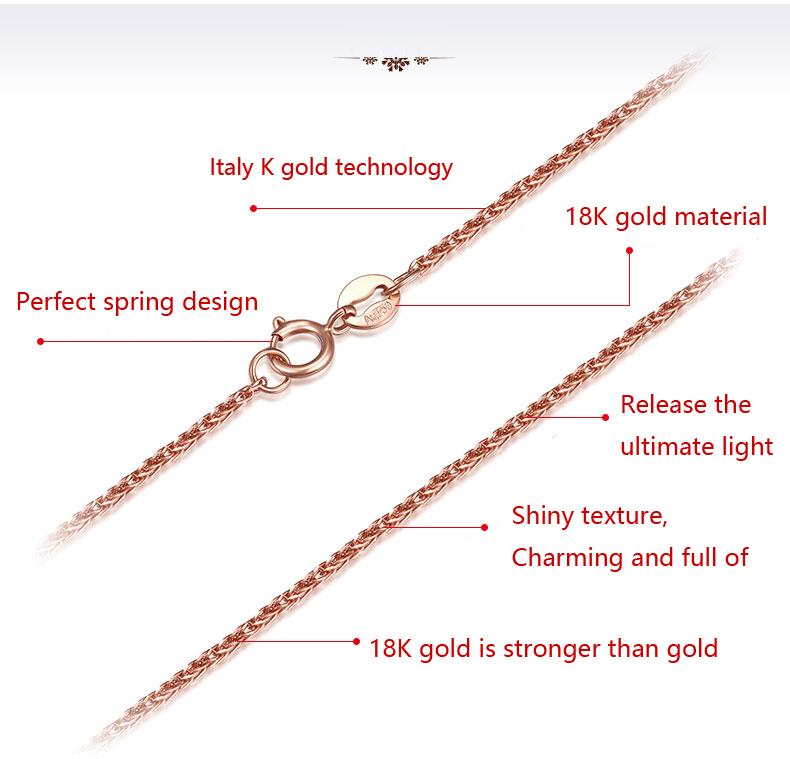 Description of gold chain clasp