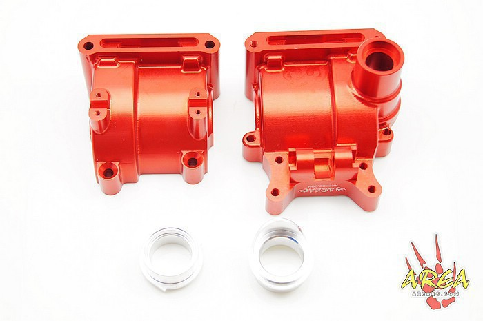 Area Rc Rear Alloy Diff for LOSI 5IVE-T billet rear hub carriers for losi 5ive t