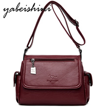 Woman Casual Shoulder Bag High quality leather Small Square Bag Sac A Main Fashion Handbag Female Messenger Bag Women's bags woman bag material is a high quality varnish faux leather