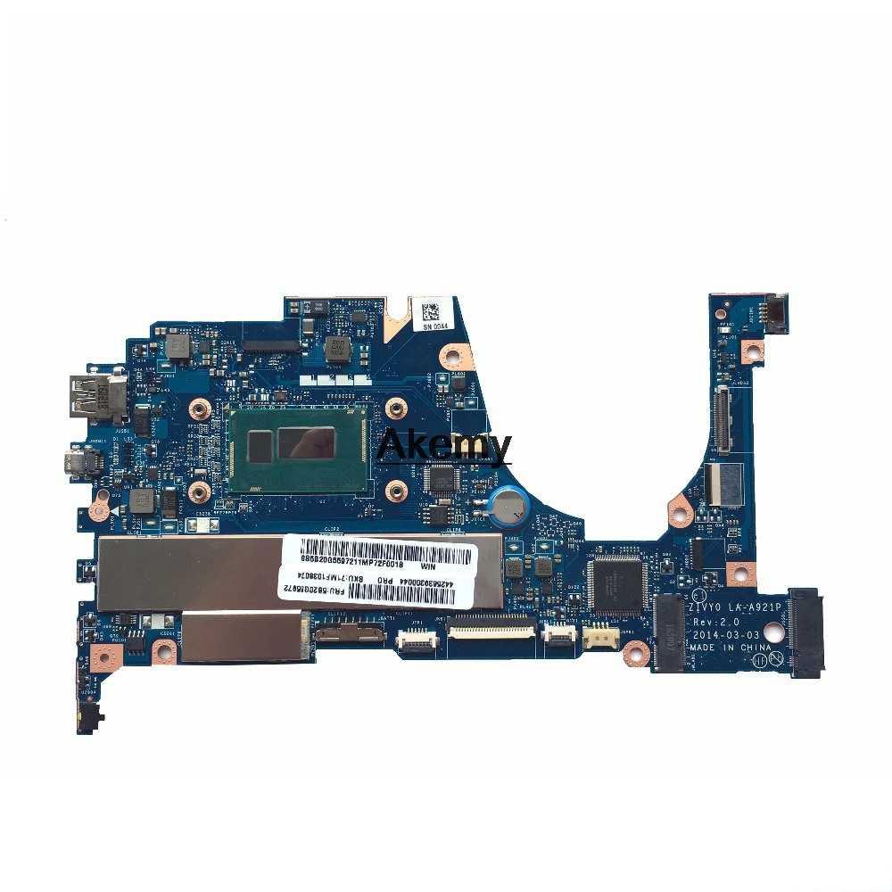 ZIVY0 LA-A921P Laptop Cho Lenovo YOGA2 13 Tập Yoga Thử Nghiệm Ban Đầu Mainboard 8G-RAM I7-4500U