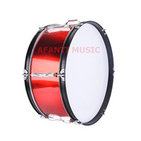 22 Inch Red Afanti Music Bass Drum BAS 1062