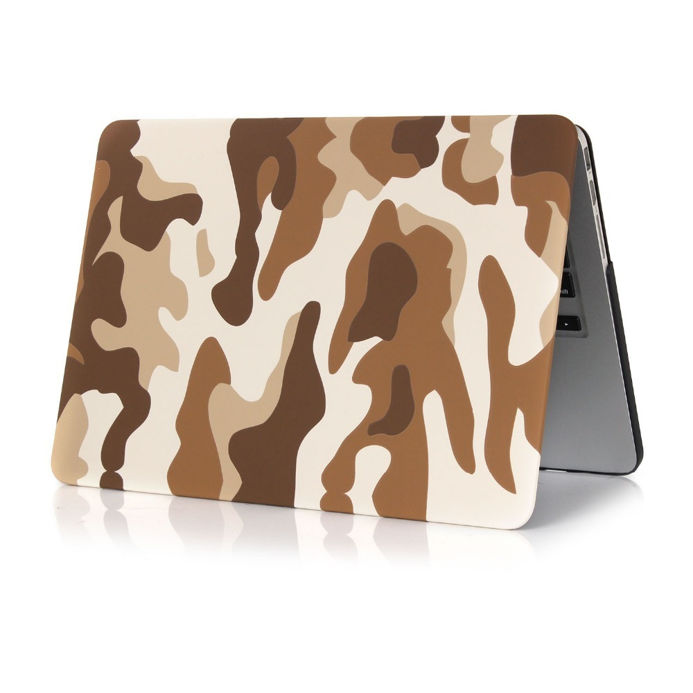 Camouflage Hard For MacBook Air 11 13 Laptop Case PC Protective Cover for Macbook Air 11 13 Pro Retina 13 15 new 12 Laptop Case