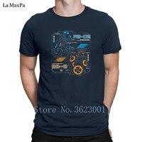 Creative Comfortable Tee Shirt Rebel Droid Schematics Men T Shirt Great O Neck Tee Shirt Standard