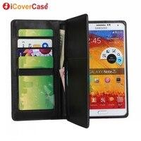Multi Cards Side Flip Wallet Leather Case For Samsung Galaxy Note 3 III N9000 N9002 N9005