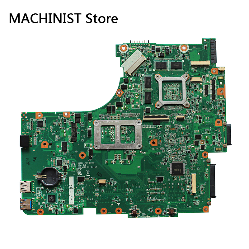 Original For ASUS N53SV N53S N53SN N53SM N53SJ motherboard REV2.2 HM65 GT540 1GB 60-N1QMB1300-D14 1