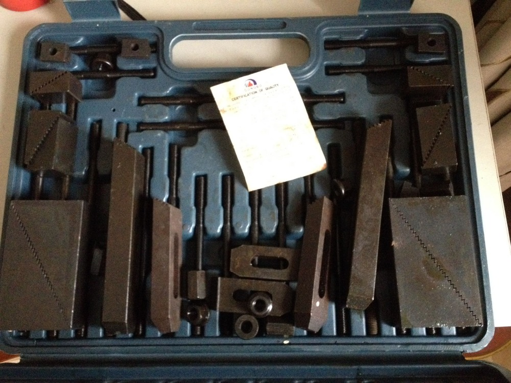 M8 Metric Clamping Kit For Milling Machine,Supplied Full 58pc цена и фото