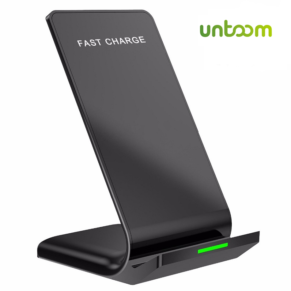 10W Qi Wireless Charger for Samsung S9 S8 S7 S6 Edge Note 8 for iPhone X 8 8Plus LG Sony Nexus4 5 6 Wireless Fast Charger Holder