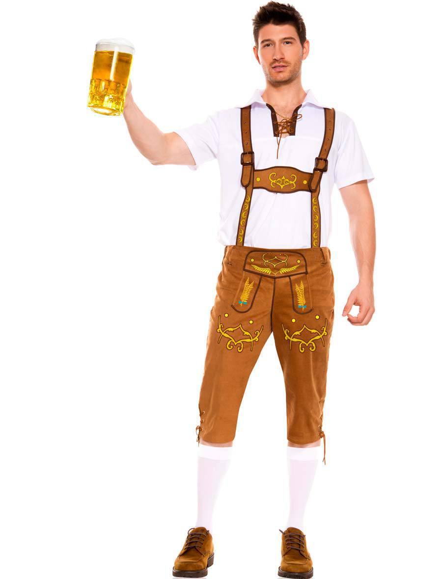 2015 new halloween masquerade cosplay costume british mens top jumpsuit oktoberfest german beer man costume fancy dresses in mens costumes from novelty