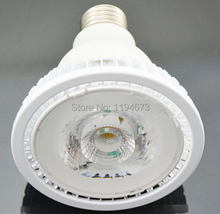 Free shipping E27 12w warm cold white PAR30 COB led light bulb LED spotlight  home 85-265V/AC