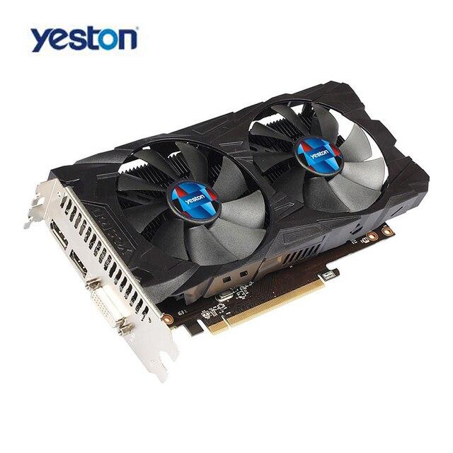 Yeston RX560D GPU 4G GDDR5 Gaming Graphics Card 128bit 4K Video
