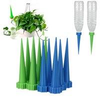 Jardim automático cone rega spike planta flor waterers garrafa sistema de irrigação cores aleatórias 1 pcs