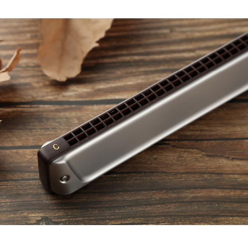 Купить с кэшбэком Professional Tremolo Harmonica 24 Holes KONGSHENG 2420 Key of #G/bA East Asia Style 12 Majors 12 free shipping