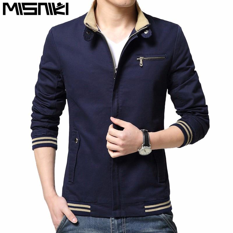 Misniki 2017 new autumn fashion men military cargo jacket slim fit cotton men's coat outwear M-4XL CYG259