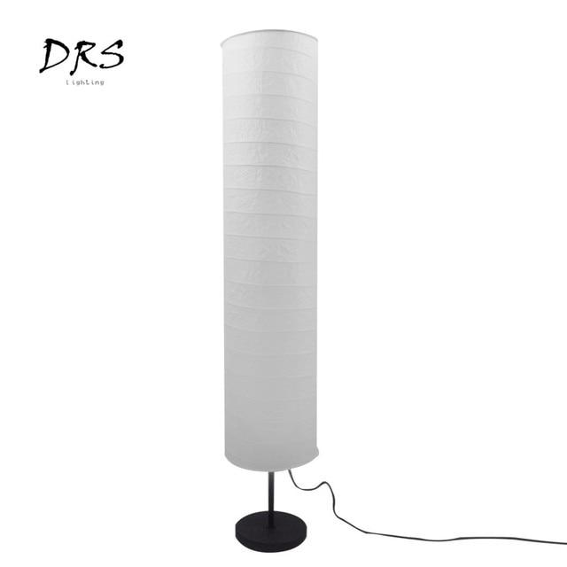Nordic Modern Led Floor Lamp For Living Room Bedroom Design Luminaire Indoor Lighting Decoration Paper Lampshade Standing Lamp 6
