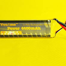 You&me Grade A cell  4400MAH 7.4V 35C max 70C RC LiPo RC Li-po Battery For RC Helicopter Airplanes Boats RC Toys