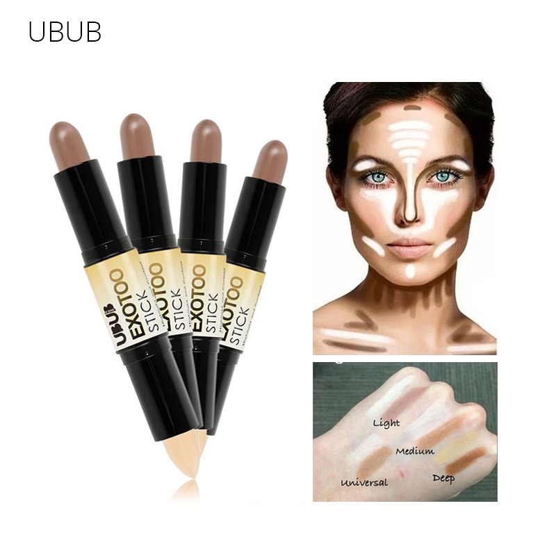 UBUB Corretivo Contouring Smink Smooth Creamy Concealer Stickpalett Proofreader För Face Konsiller Highlighter