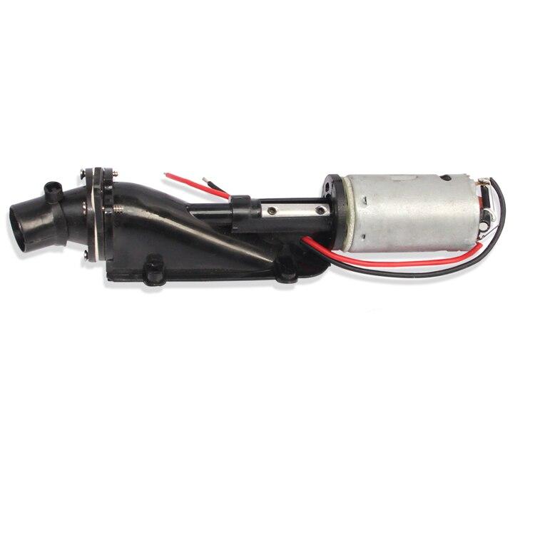 RC Boot Jet Super Geschwindigkeit Pumpe Jet Propeller Wasser Pumpe Ruder Spray für DIY Elektrische Boot Turbo JET Teil w 390 Motor Jet Stick
