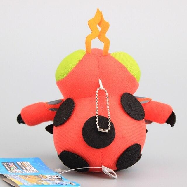 Anime Digimon Adventure Agumon Gabumon Tailmon Tentomon lindo colgante de felpa con llaveros regalo para niños 8 piezas conjunto completo