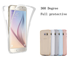 Trong suốt Mềm Mại Ốp Lưng Điện thoại Samsung Galaxy A6 A8 Plus 2018 A3 A5 A7 J3 J5 J7 2015 2016 2017 neo Prime Silicone Full Cover(China)