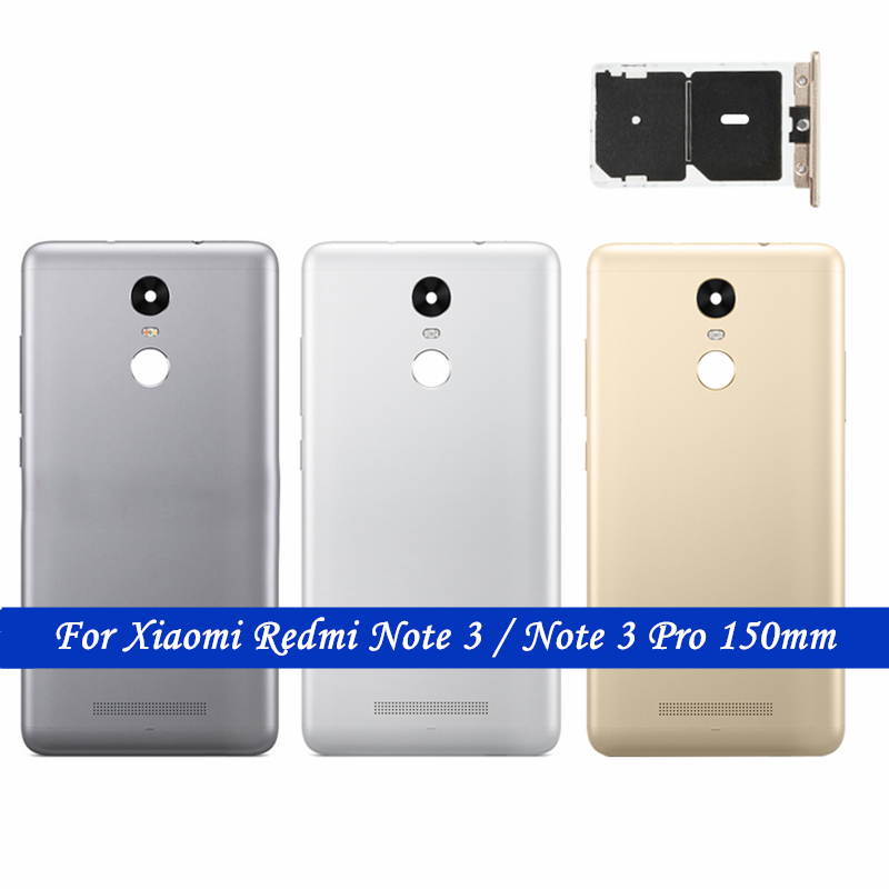 Redmi Note 3/ Note 3 Pro Back Battery Metal Cover + SIM Card Holder For Xiaomi Redmi Note 3 Pro 150mm Rear Door Housing Parts-in Mobile Phone Housings from Cellphones & Telecommunications on Aliexpress.com | Alibaba Group