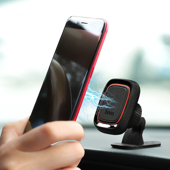 HOCO Best Car Phone Holder Magnetic Stand for iPhone X Xs Max XR 8 Samsung S9 Cellphone Magnet Mount 360 Rotation Holder in Car 5