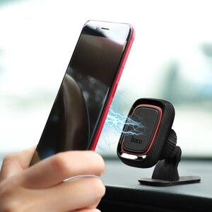 Image 5 - HOCO Beste Auto Telefon Halter Magnetischer Standplatz für iPhone X Xs Max XR 8 Samsung S9 Handy Magnet Montieren 360 drehung Halter in Auto