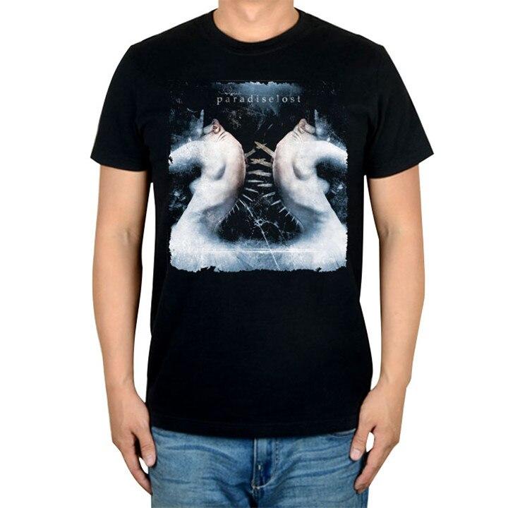 14 видов иллюстрации Райский Lost Rock брендовая футболка панк готический Металл черные рубашки уличная Harajuku искусство картины camiseta - Цвет: 4