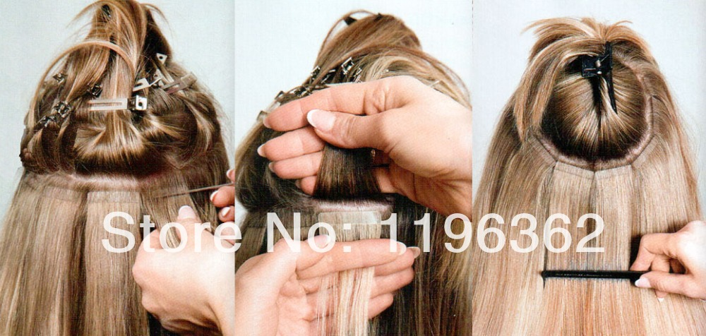 Best 100g Diy Remy Tape Hair Extensions 40 Pieces Pu Skin Weft Hair