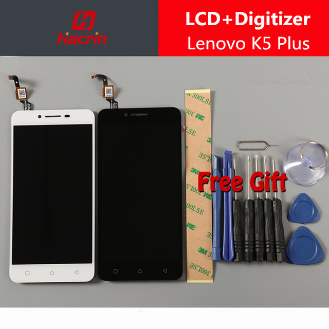 for Lenovo K5 Plus LCD Display Touch screen Digitizer Assembly Replacement panel for Lenovo A6020 A46 5.0inch
