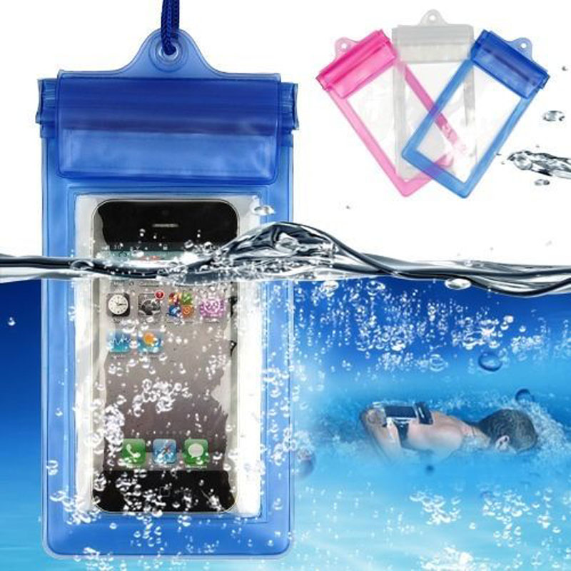 250 X étui Transparent étanche pour téléphone portable étui pour iPhone 4 5 6 7 Plus Galaxy S4 5 6 Note 2 3 Honor 6 Plus MI 3 4 - 4