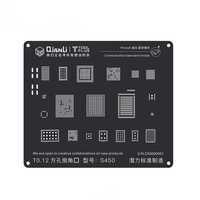 3D czarna stal wzornik bga dla iPhone 8 P/8/7 P/7/6SP/6 S/6 P/6/5S/5 komunikacja moduł Baseband Tin sadzenie płyta Reballing