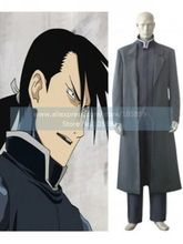 FullMetal Alchemist Greed Grey Cosplay Costume