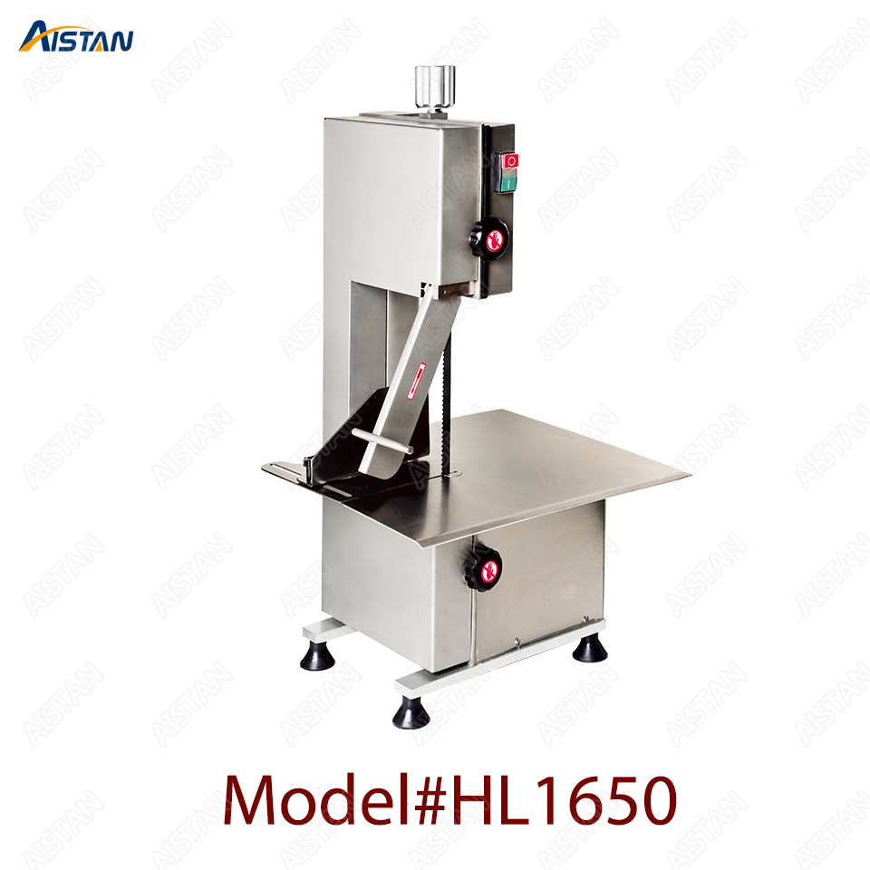 HL1650 electric commercial bone saw bone cutter frozen meat slicer machine with blades 1