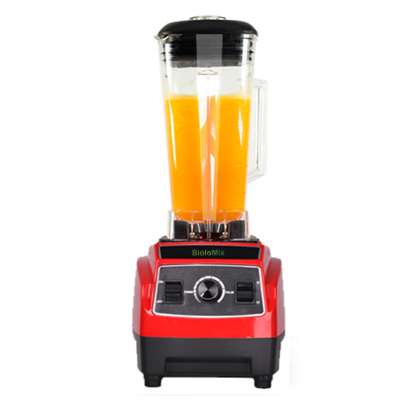RU SÓ 3HP 2200 w 2L BPA livre Profissional casa gree smoothies liquidificador de alta potência batedeira juicer processador de alimentos liquidificador