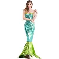 New Halloween COS Costume Bar Costume Long Dress European and American Game Mermaid Cosplay Costume L1891012